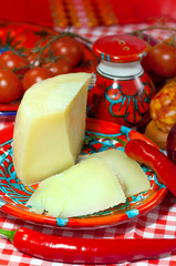 Calabria, locale food- cheese