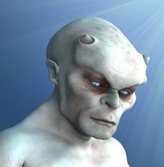 Pale Demon Portrait