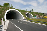 Rozman Hill Tunnel on the A1 highway in Croatia