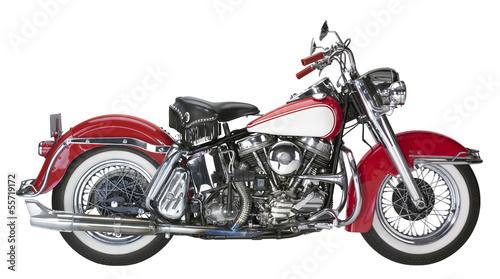 vintage motorcycle - 55719172