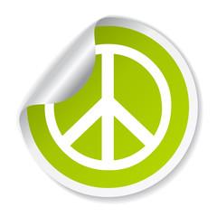 Vector peace symbol
