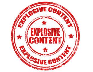 Explosive Content-stamp