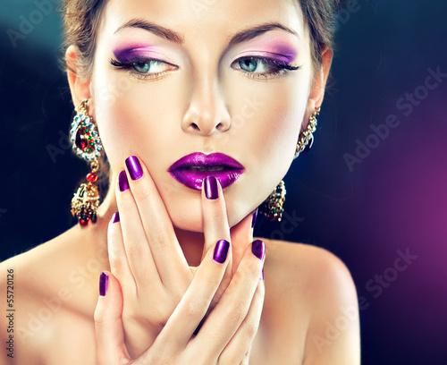 Fototapeten,manicure,makeup,nagel,zusammenstellen