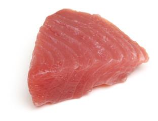 Raw Tuna Fish Steak