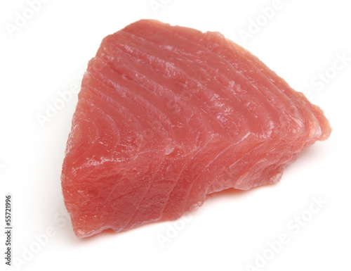 Raw Tuna Fish Steak