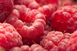 Fresh ripe raspberry as a background