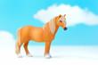 馬のミニチュアモデル