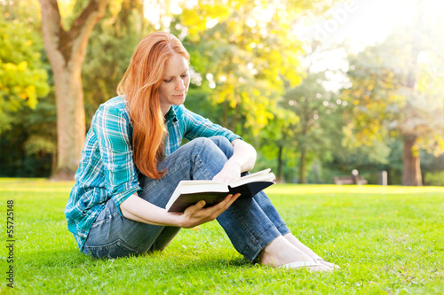 A Young Woman with a Book