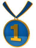 Blue medal award