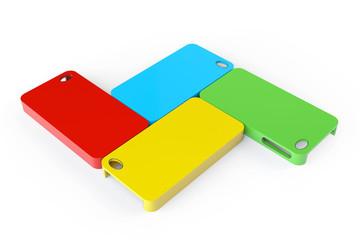 MultiColor plastic mobile phone cases