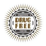 drug free label poster