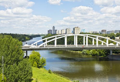 Moscow, Horoshevskiy bridge