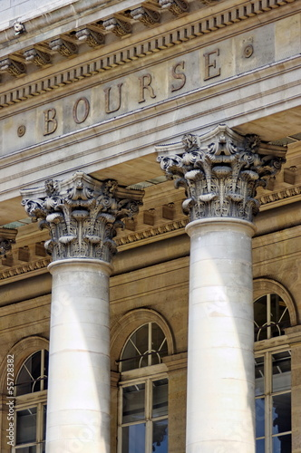 La Bourse, Palais Brongniart, Paris