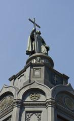 Kiev, Ukraine, monument to prince Vladimir