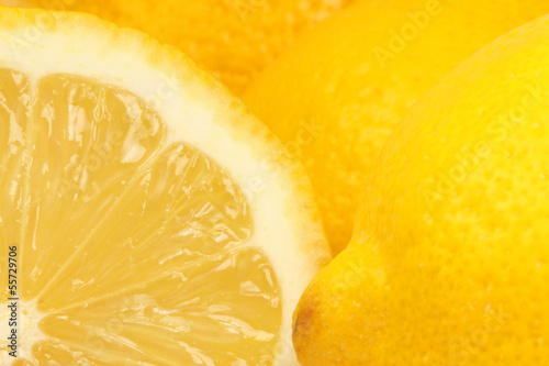 canvas print picture Zitronen