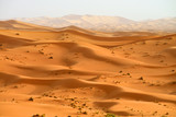 Sand dunes in the Sahara Desert, Morocco, morning