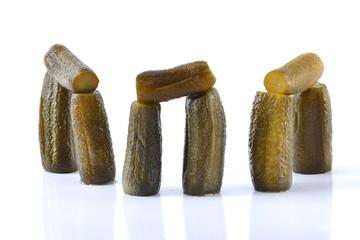 cucumber stonehenge