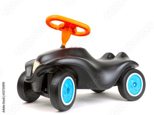 Leinwandbild Motiv Spielzeugauto