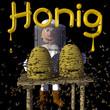 Honig Hofverkauf aus eigener Imkerei - Hinweisschild