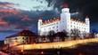 Bratislava castle - time lapse