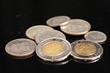 Panamanian Coins Close Up