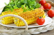 yellow grilled corn , tasty side dish