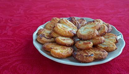 fan-shaped pastries