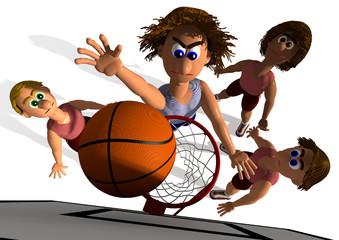 Basketball - Treffer Siegtreffer