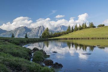 Bergsee in den Alüpen