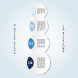 Guide progress in blue tone