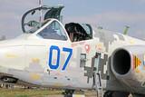 Ukrainian fighter Su-25