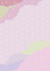 継ぎ紙 紫