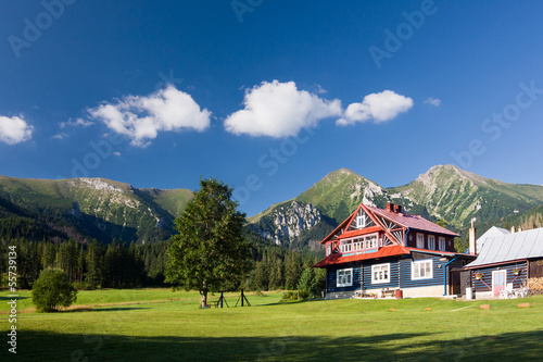 Chalet beneath the mountains - High Tatras, Slovakia, EU