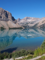 Bow Lake at Jasper National Park