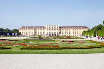 Schonbrunn Palace in Wien, Austria