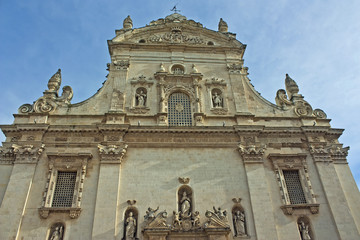 Galatina, the cathedral - Puglia - Italy