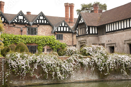 Moated Tudor Manor House
