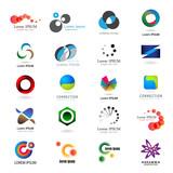 Fototapety Business Icons Set - Isolated On White Background