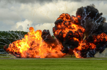 large explosion