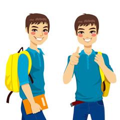 Cool Teenage Student