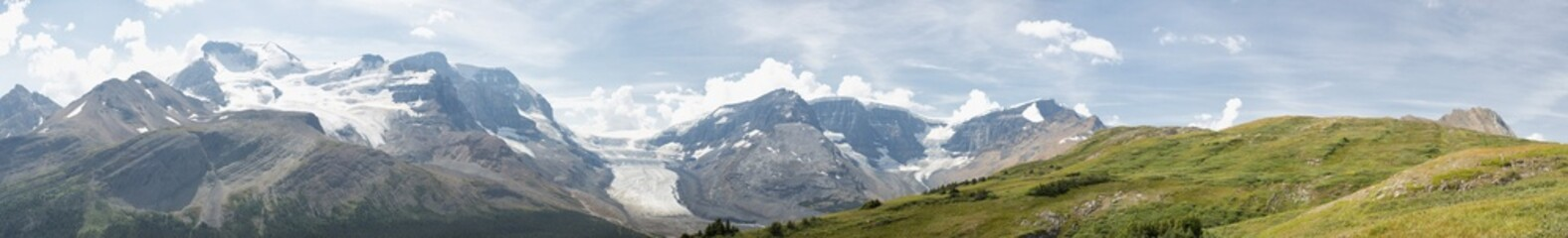 Icefield Park glacier view