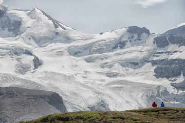 Icefield Park glacier view