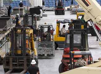Forklift loaders