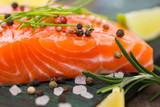 Fototapety Fresh salmon