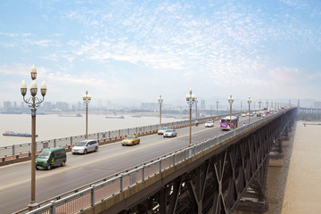 Nanjing - Yangtze River Bridge, built in 1968