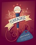 Fototapety Karaoke club