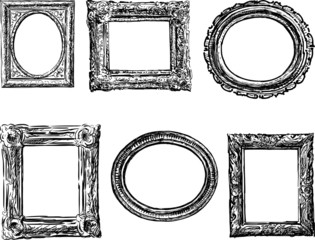 frames in baroque style