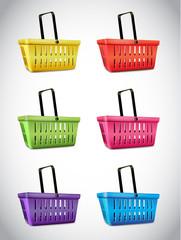 Plastic Basket Set