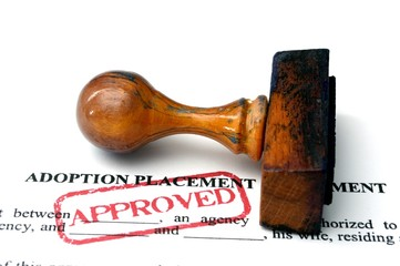 Adoption placement agreement