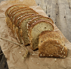 Sliced Brown Wholewheat Bread